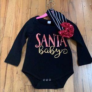 Other - Brand new Santa Baby little girl onesie! 🎅🏼❤️